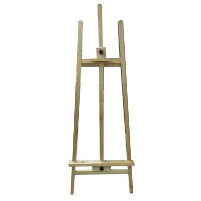 【文具通】5尺約150cm原木色高級進口畫架不含畫板需另購L3010513