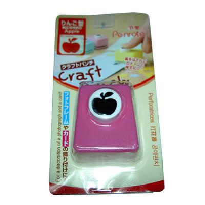 【文具通】筆樂KC0960造型打孔機 蘋果 L5080441