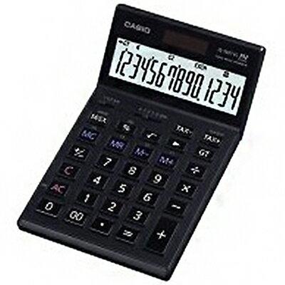 【文具通】CASIO JS-140TVS 14位數計算機176.5×107×24.6mm L5140052