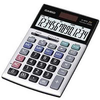 【文具通】CASIO 卡西歐 JS-40TS 14位 計算機 L5140106