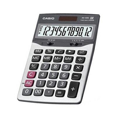 【文具通】CASIO AX-120S計算機 17.5x10.7cm L5140125
