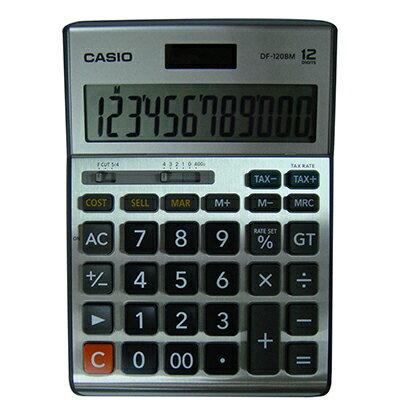 【文具通】CASIO DF-120MS 12位計算機 L5140128