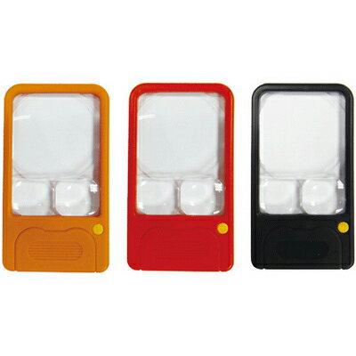 【文具通】Life徠福口袋型照明放大鏡NO.7371L8020057