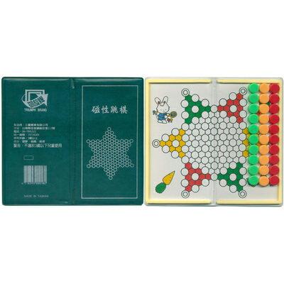 【文具通】TRIUMPH BRAND 凱旋 迷你 磁性 跳棋 M6010005