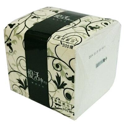 【文具通】單抽柔紙巾 出貨品牌為隨機 約300抽 195x105mm P1040080