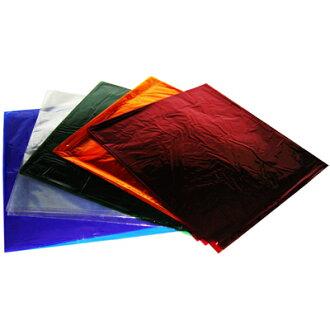 【文具通】全開 彩色 玻璃紙 黃 約89x91cm P1210004