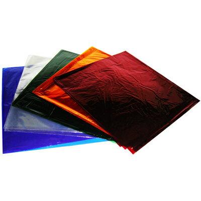 【文具通】四開 彩色 玻璃紙 藍 約45.5x51cm P1210011