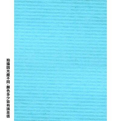 【文具通】台紐A4 淺藍色袋入粉彩紙25入A076# P1330243