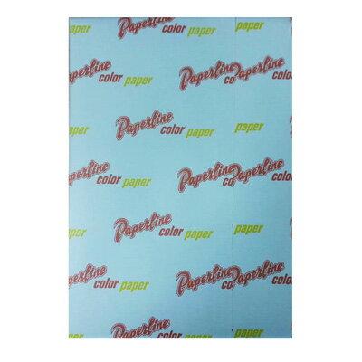 【文具通】影印紙A470gsm彩色含稅價500張淺藍120#P1410010