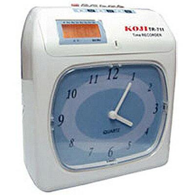 【文具通】KOJI TR-711指針式卡鐘[用AMANO有孔] P7010074