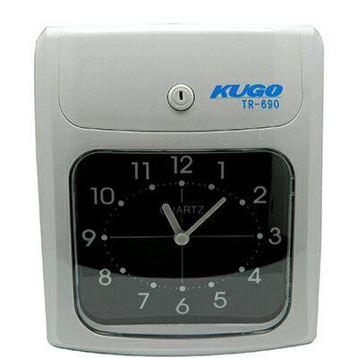 【文具通】KUGOTR-690專業6欄位卡鐘適用amano有孔卡P7010086P7010086