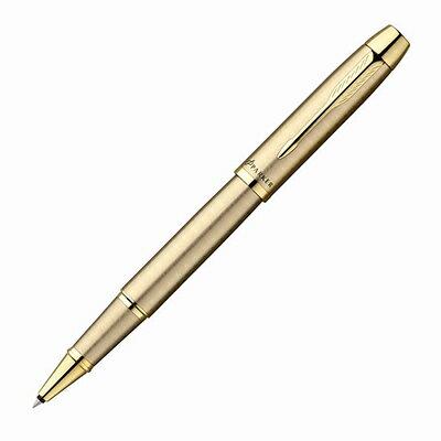 【文具通】PARKER 派克 PARKER IM 經典系列-香檳金桿金夾鋼珠筆 PK-P0811700
