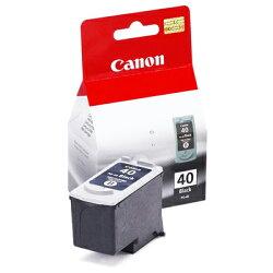 【文具通】Canon 佳能 原廠 墨水匣 墨水夾 PG-40 黑色 R1010349