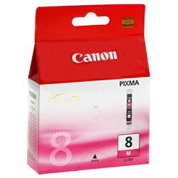 【文具通】Canon 佳能 原廠 墨水匣 墨水夾 CLI-8M 紅色 R1010375