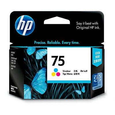 【文具通】HP CB337WA 噴墨 印表機 墨水匣 NO.75 彩 R1010436