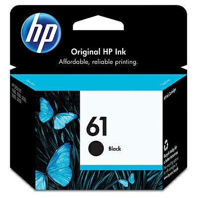 【文具通】HP 61 黑色 原廠 噴墨印表機 墨水匣 CH561WA R1010495