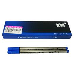 【文具通】Montblanc 萬寶龍 鋼珠筆 筆芯 替芯 F 細 藍(2支入) S1010189