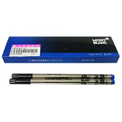 【文具通】Montblanc 萬寶龍 鋼珠筆 筆芯 替芯 M 粗 藍(2支入) S1010563