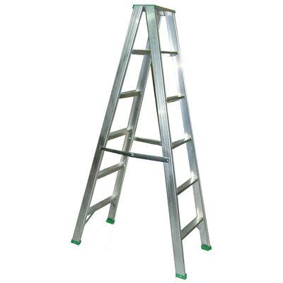 【文具通】6尺 約180cm 五層 五階 鋁梯 3.6厚 承載約100公斤 T3010158