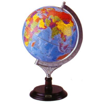 【文具通】塑膠底座地球儀8吋31cm W3010003