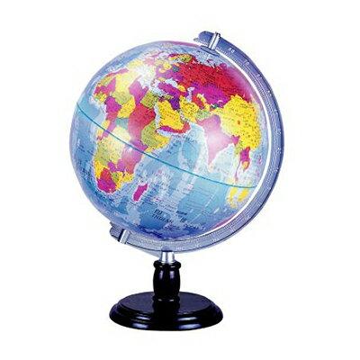 【文具通】古典色塑膠座地球儀8吋31cm W3010022