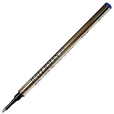 【文具通】WATERMAN 威迪文 鋼珠筆芯 F 藍 WTM-W0112680