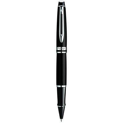 【文具通】WATERMAN 威迪文 EXCEPTION 權威 霧黑白夾鋼珠筆 WTM-W0951880