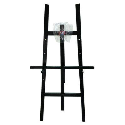 【文具通】高級 5尺約150cm 黑色 原木室內畫架 不含畫板需另購 每組皆附插銷可調整畫板高低 L3010519