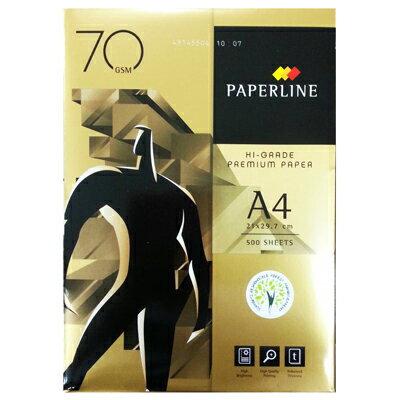 【文具通】APP 亞細亞 PAPERLINE GOLDEN 影印紙 金牌 A4 70gsm 500張 白 P1410777