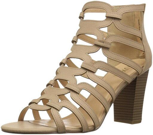 XOXO Women's Bloomington Heeled Sandal, Bone, Size 5.0 788f303ae914cf84d00041c5b4c1a552