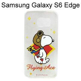 SNOOPY 史努比透明軟殼 [N02] Samsung G9250 Galaxy S6 Edge【台灣正版授權】