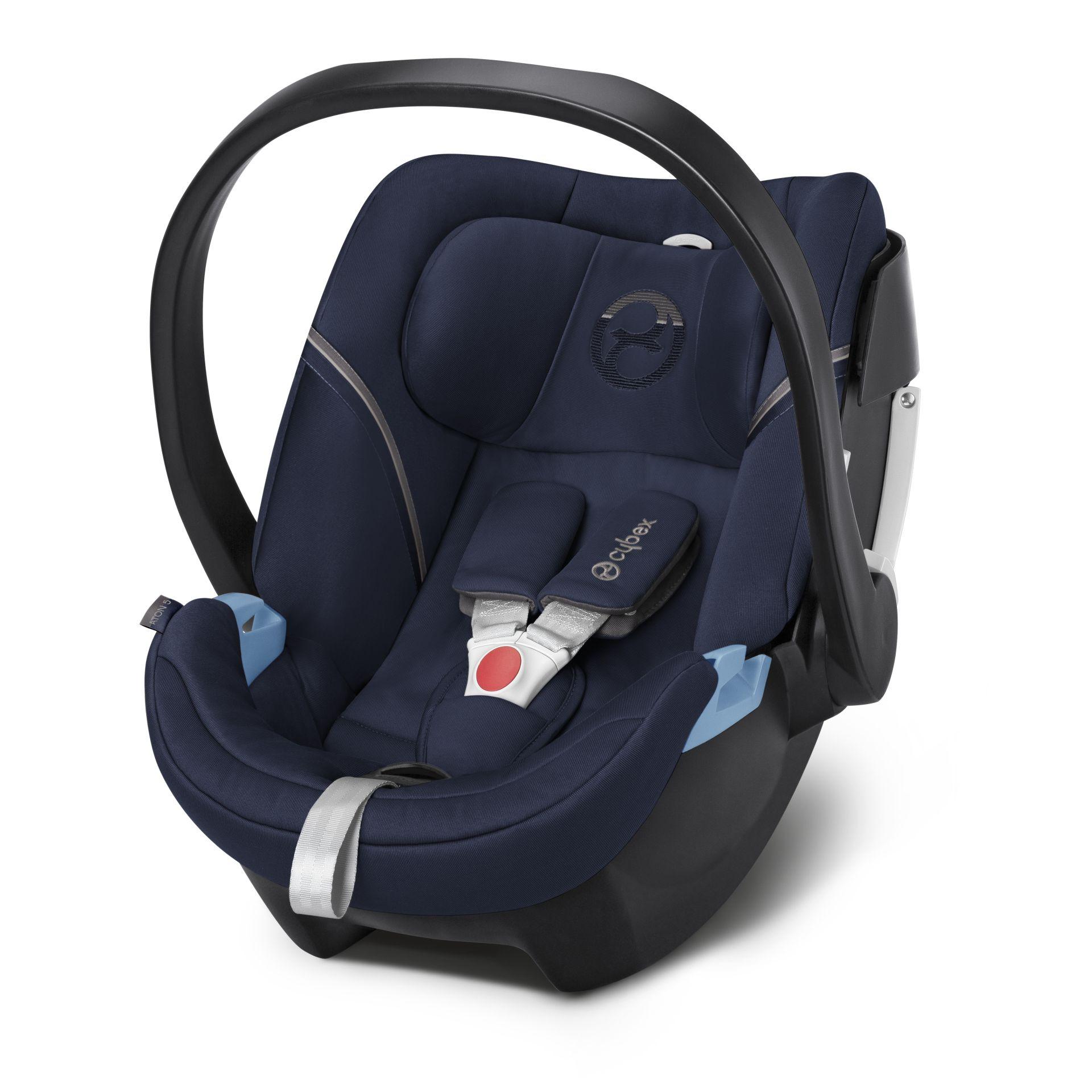 Cybex ATON 5 嬰兒提籃型安全座椅/ 嬰兒汽座- 深夜藍 MIDNIGHT BLUE