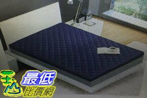 [COSCO代購 如果沒搶到鄭重道歉] CASA 雙人四季透氣乳膠床墊 152 x 190 公分 W114562