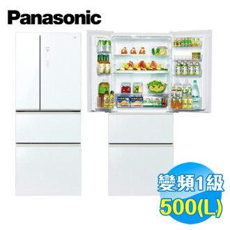 國際 Panasonic 500公升 ECONAVI 四門玻璃 變頻冰箱 NR-D508NHG