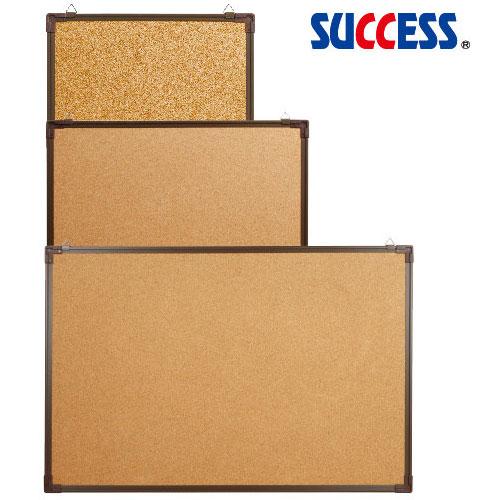 【成功 公佈欄】成功 011508 (小)雙面軟木板咖啡框