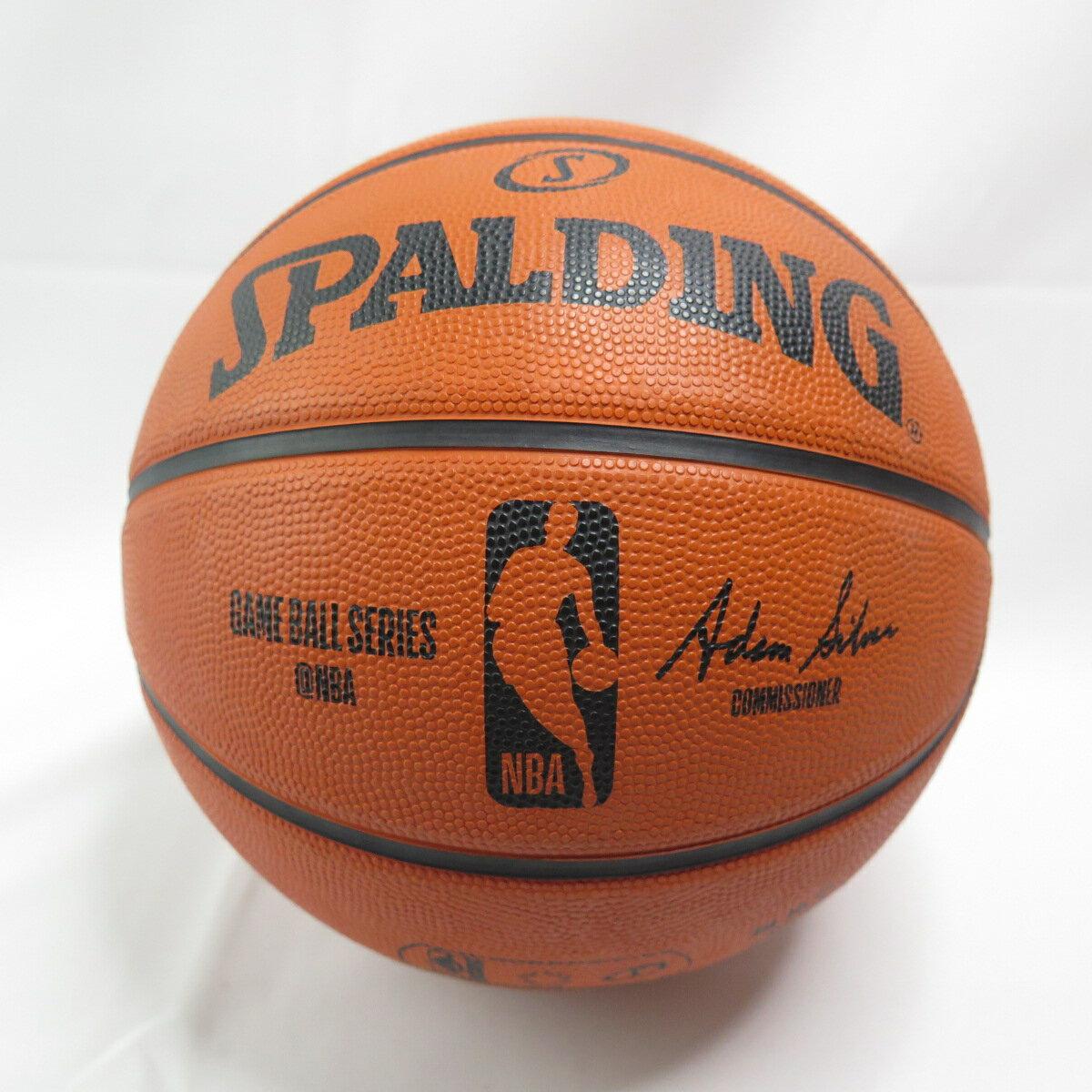 【滿額領券折$150】SPALDING NBA OFFICAL GAME BALL SERIES 七號球 SPA83385 橘【iSport】
