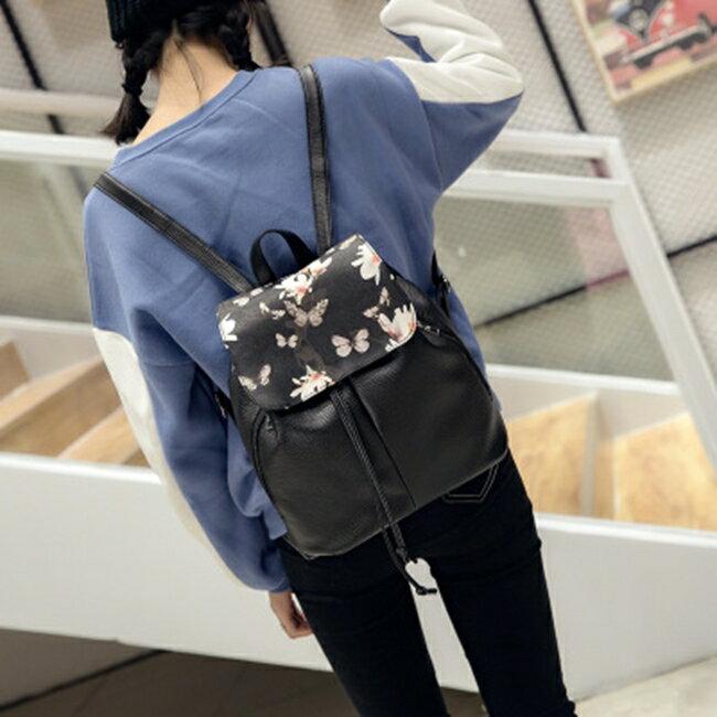 50%OFF SHOP【RA021791B】雙肩包水洗皮背包女包時尚學院風包包新款潮書包新品