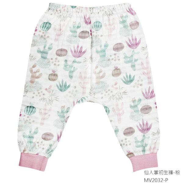 【春夏款】台灣【米諾娃MINERVA】【仙人掌系列】初生褲(藍灰粉)