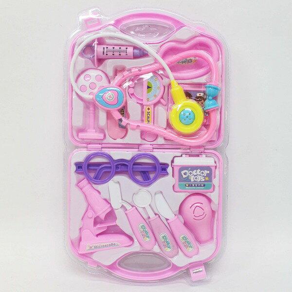 旻泉精品批發網 護士醫生遊戲玩具組 DF-546-11 手提醫生組(吊卡)/ 一盒入{促150}護士醫生組家家酒玩具~創B-546-11