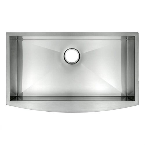 "Golden Vantage 30"" Undermount Apron 16 Gauge Stainless Steel Single Bowl Kitchen Sink 0"