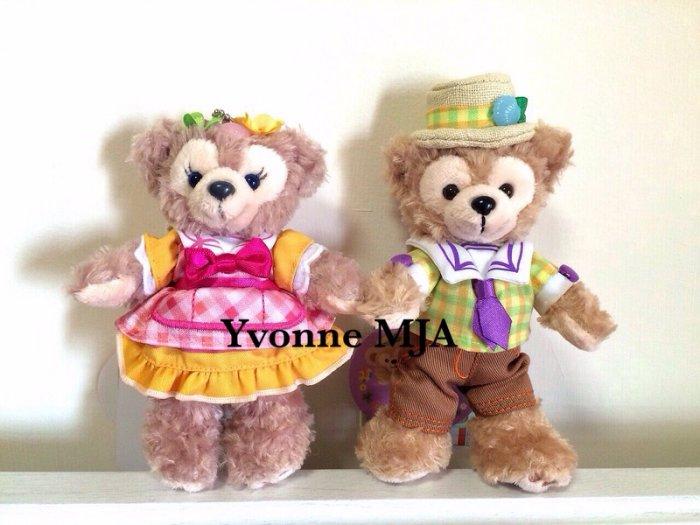 *Yvonne MJA日本代購*東京迪士尼海洋樂園限定正品Duffy達菲熊雪莉玫(春巡)限定站姿吊飾