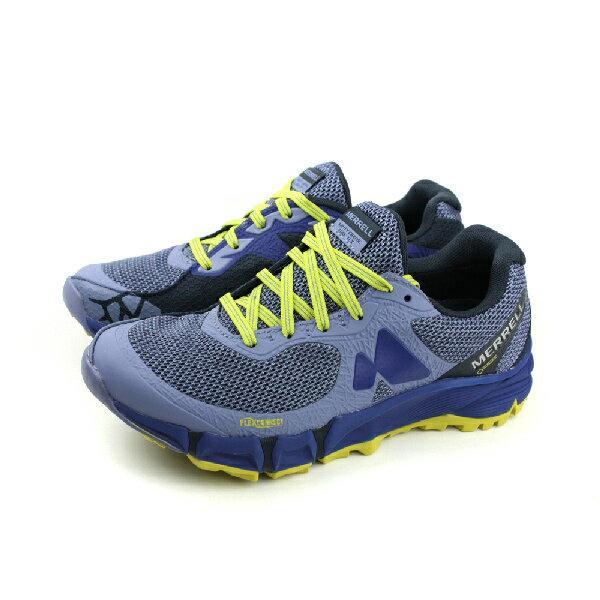 HUMAN PEACE:MERRELLAGILITYCHARGEFLEXGTXGORE-TEX運動鞋慢跑鞋健行防水藍色女鞋ML09644no845
