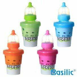『121婦嬰用品館』貝喜力克 basilic 拋棄式紙奶瓶 0
