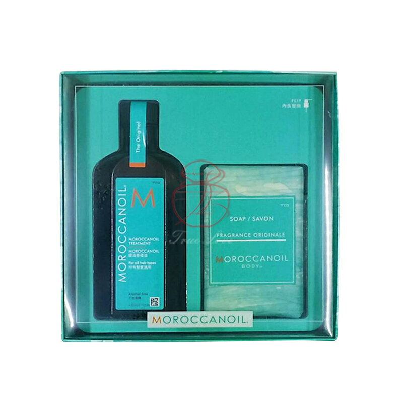 摩洛哥 優油M套組(優油125ML+香氛沐浴皂200g) ☆真愛香水