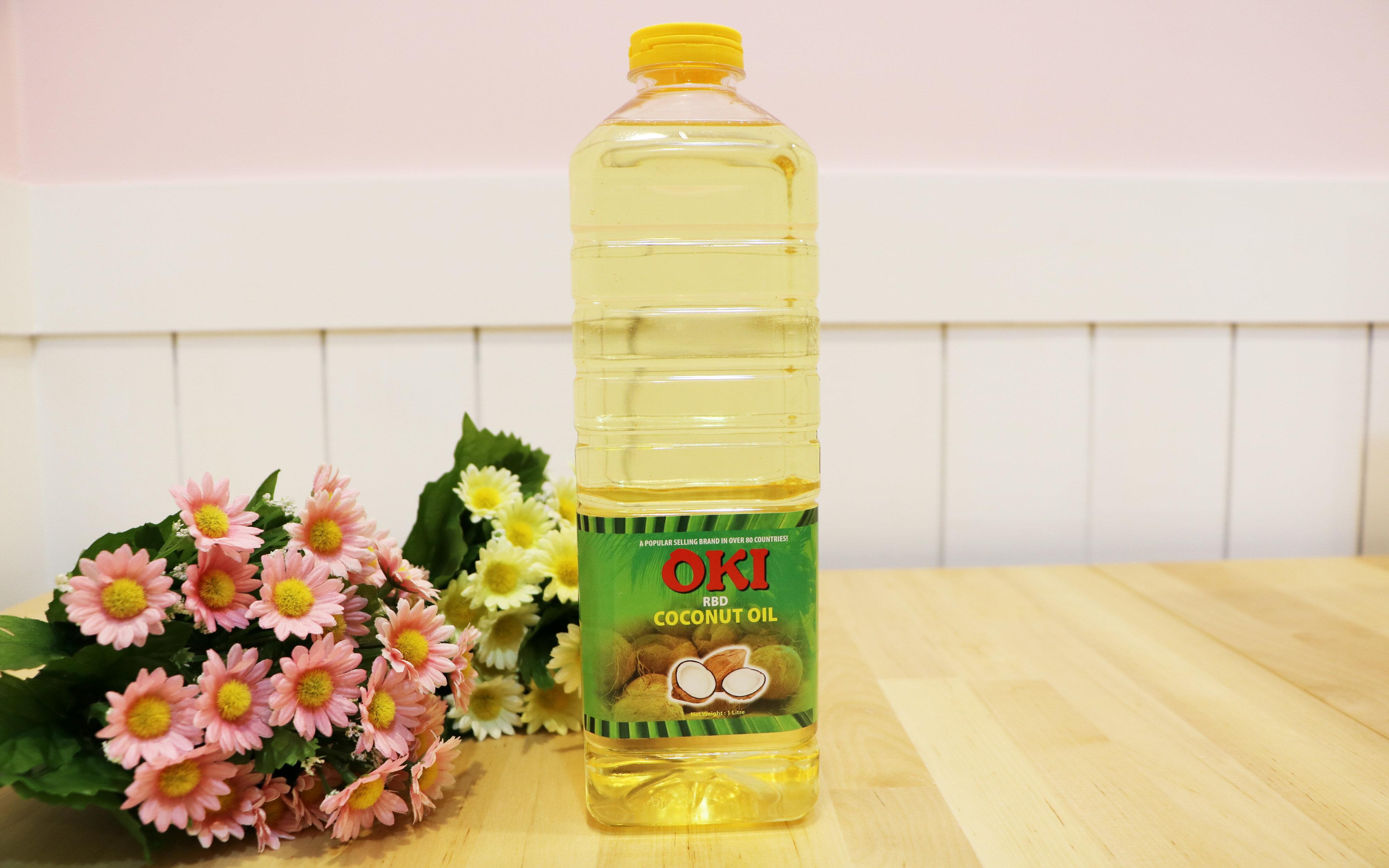 OKI 精煉級椰子油 Coconut Oil 1 L(食品級)