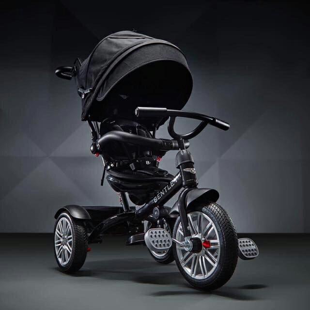 Bentley賓利三輪手推車-極致黑