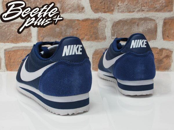女生 BEETLE NIKE CLASSIC CORTEZ NYLON 深藍 白勾 阿甘鞋 慢跑鞋 749864-414 2