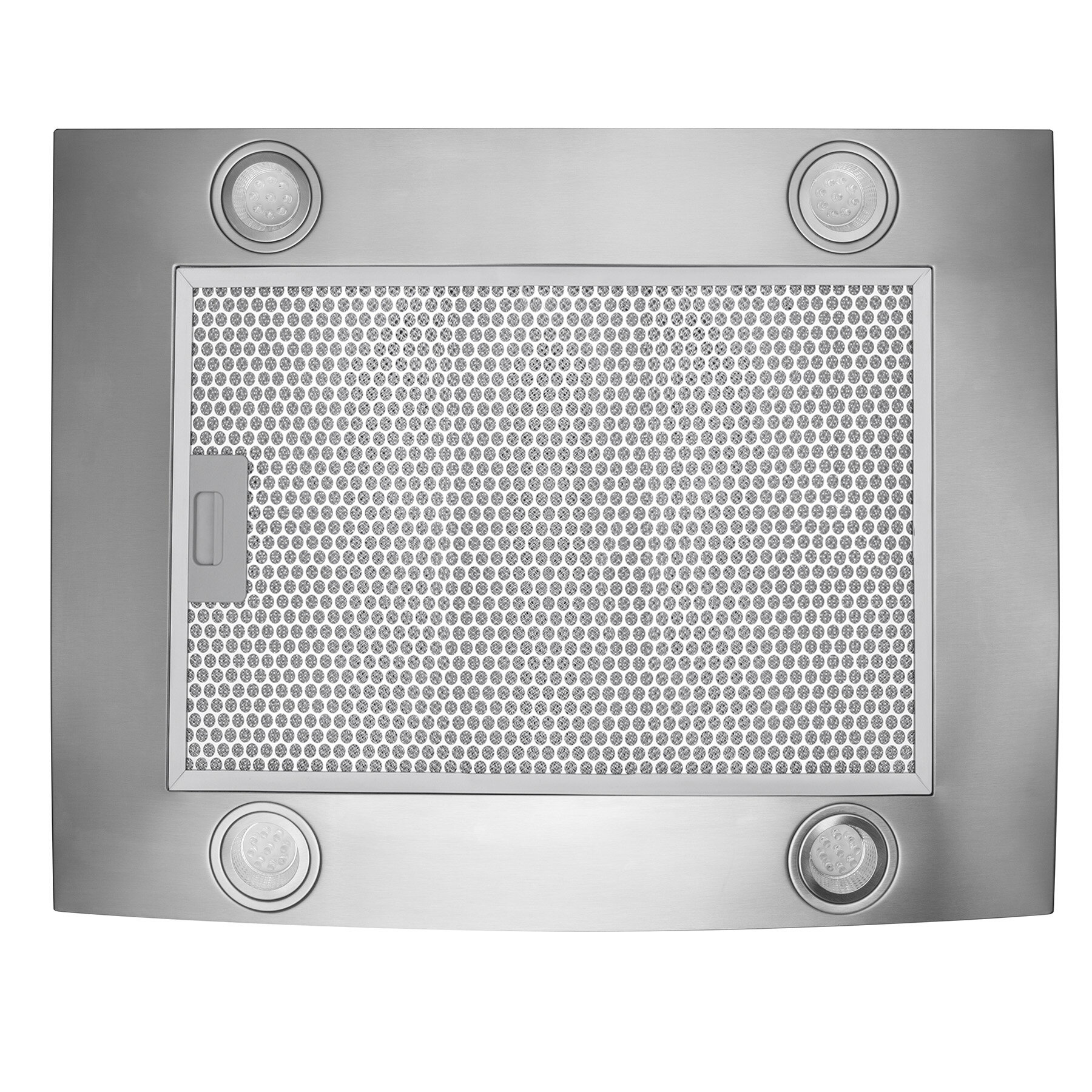 """AKDY 30"""" Island Mount Stainless Steel Tempered Glass Touch Panel Kitchen Range Hood Cooking Fan 7"""
