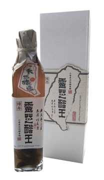 味榮 活力元氣靈芝醋王小麥草醋 500g/瓶