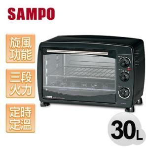 ★杰米家電☆『SAMPO聲寶』KZ-SB30C 30L旋風電烤箱
